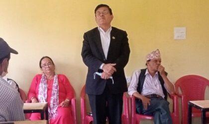 नेकपा एकीकृत समाजवादी पार्टी रामपुरको अगुवा कार्यकर्ता भेला सम्पन्न